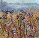 "1110 ""Withered Grasses"" 12""x12"""